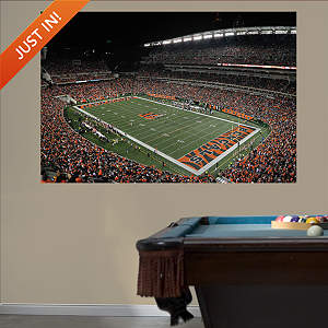 Inside Paul Brown Stadium Mural Fathead Wall Decal